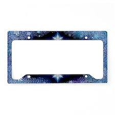 Snowflake Calendar - January License Plate Holder
