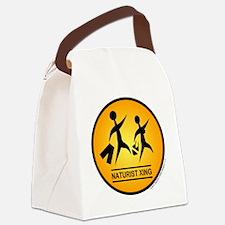 Naturist Xing Shirt Canvas Lunch Bag
