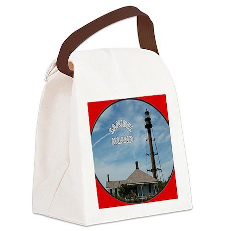 SanibelPdf2 Canvas Lunch Bag