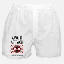 Avoid Attack Black Boxer Shorts