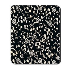 music note Mousepad