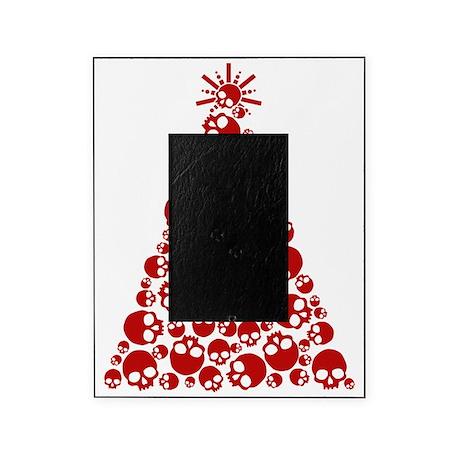 Skull Christmas Tree Picture Frame