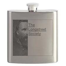 Longstreet Logo Flask