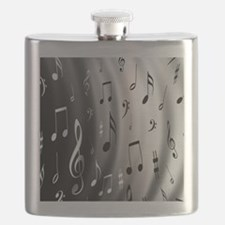 music notes Flask