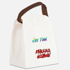 Fabulous Husband NY for dark Canvas Lunch Bag