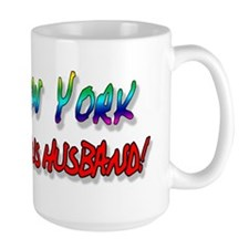 Fabulous Husband NY bumper Mug
