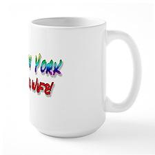 Fabulous Wife NY bumper Mug