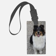 Jeep Lovely Tri Color Sheltie Luggage Tag