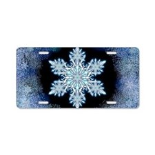 Snowflake Calendar - May Aluminum License Plate