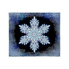 Snowflake Calendar - May Throw Blanket