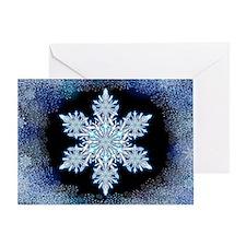 Snowflake Calendar - May Greeting Card