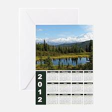 Denali 2012 Year At A Glance Greeting Card