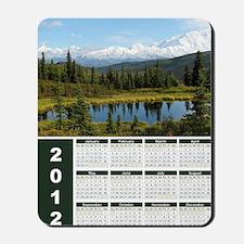 Denali 2012 Year At A Glance Mousepad