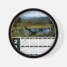 Denali 2012 Year At A Glance Wall Clock