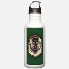 smokin-santa-STKR Water Bottle