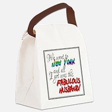 Fabulous Husband NY Canvas Lunch Bag