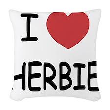 HERBIE Woven Throw Pillow