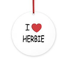 HERBIE Round Ornament