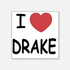 "DRAKE Square Sticker 3"" x 3"""