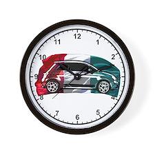 Italian 500 Clock Wall Clock