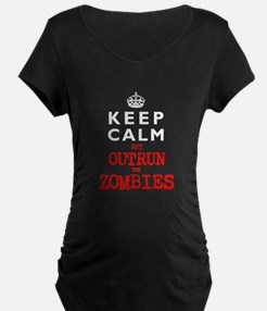 KEEP CALM but OUTRUN the ZOMBIES T-Shirt