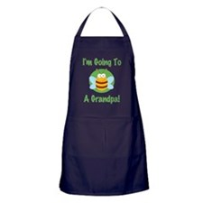 bee a grandpa Apron (dark)