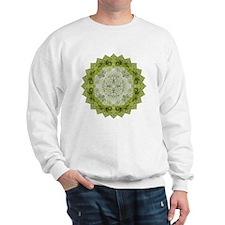 Green Man Yoga Mandala Shirt Sweatshirt