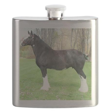 English Shire Mare Flask