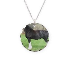 English Shire Mare Necklace