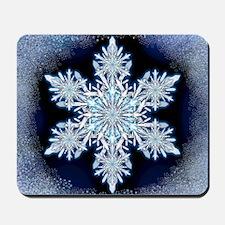 Snowflake Calendar - May - square Mousepad