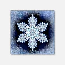 "Snowflake Calendar - May -  Square Sticker 3"" x 3"""