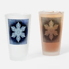 Snowflake Calendar - May - square Drinking Glass