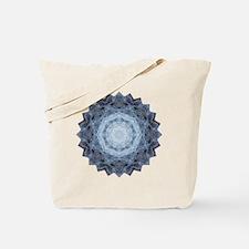 Blue Star Kachina Yoga Mandala Shirt Tote Bag