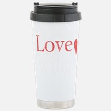 I Love Twilight 2 Travel Mug