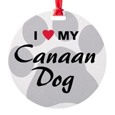 Canaan-Dog Ornament