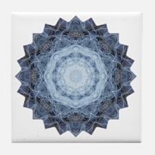 Blue Star Kachina Yoga Mandala Shirt Tile Coaster