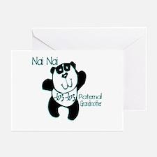 Nai Nai Panda 2 Greeting Cards (Pk of 10)
