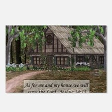 cottage mousepad Postcards (Package of 8)