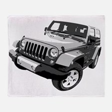 Wrangler 01 Throw Blanket