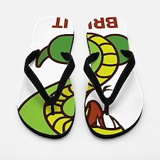 Honey Badger Cobra Bring It Flip Flops