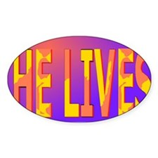 He lives blanket Decal