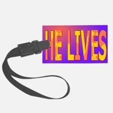He lives blanket Luggage Tag