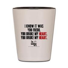 I Knew It Was You Shot Glass