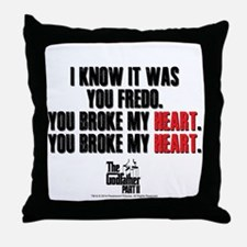 I Knew It Was You Throw Pillow