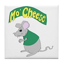 MoCheese_green_V1 Tile Coaster