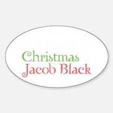 All I Want For Christmas Is Jacob B Decal