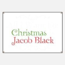 All I Want For Christmas Is Jacob Black 2 Banner
