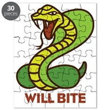 Honey Badger Cobra Will Bite Puzzle