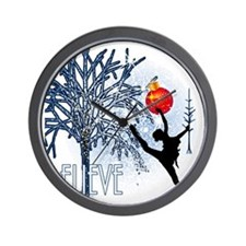 Believe in Dance by DanceShirts.com Wall Clock