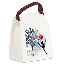 Believe in Dance by DanceShirts.c Canvas Lunch Bag